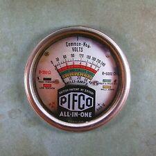 """Vintage Style Voltmeter Gauge Fridge Magnet 2 1/4"""" Steampunk Dieselpunk Amps"""