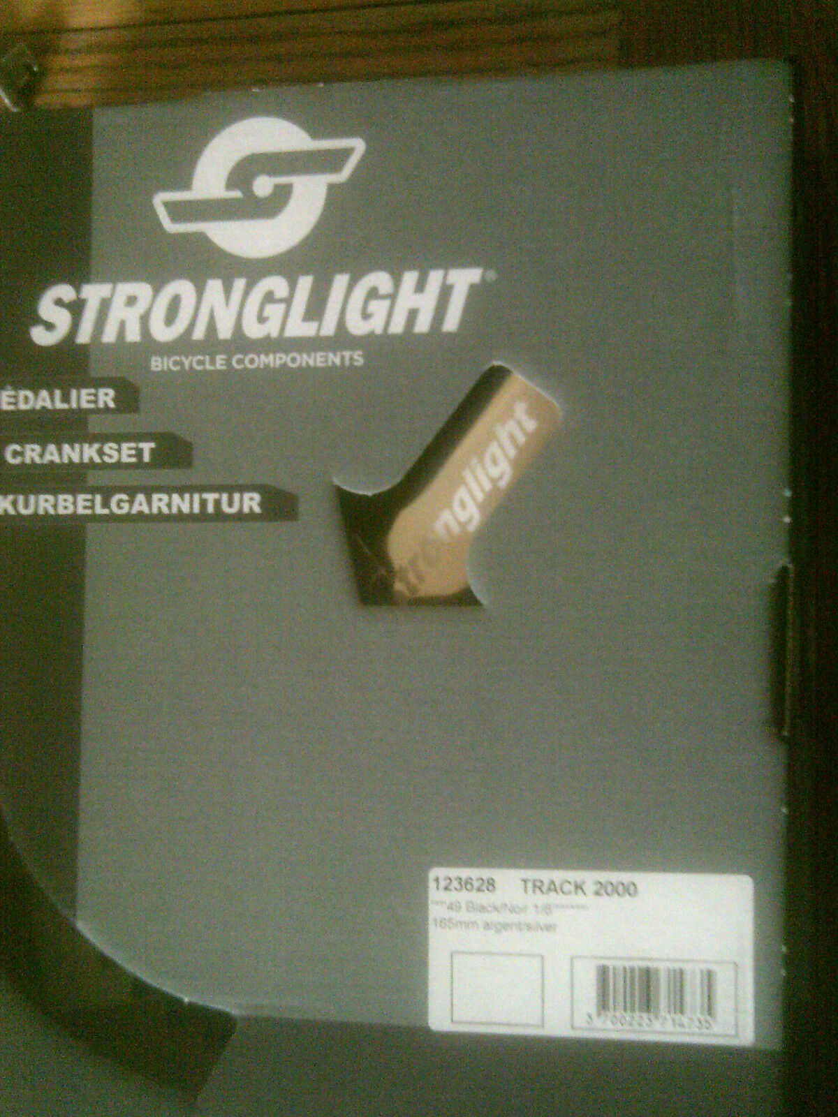 STRONGLIGHT TRACK 2000 CHAINSET, PISTA 165mm