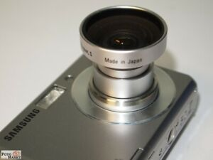 Wide-Angle-Lens-Holder-0-5x-Htmc-Hama-044326-22mm-Wide-Angle-Resolution