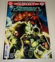 GREEN LANTERNS  # 1  DC Comic  Sep 2016  NM  DC Universe Rebirth  2nd PRINTING