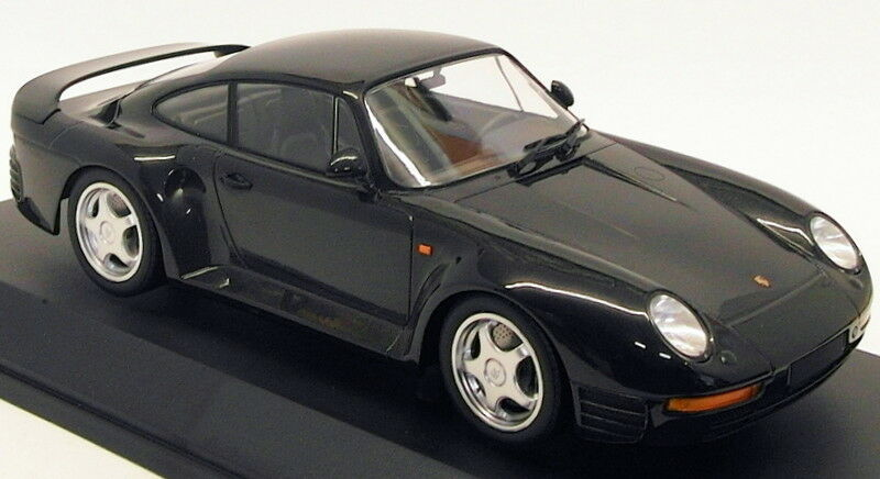 barato en línea Minichamps Escala Escala Escala 1 18 Modelo de Coche 155 066205 a 1987 Porsche 959-gris Metalizado  la mejor selección de
