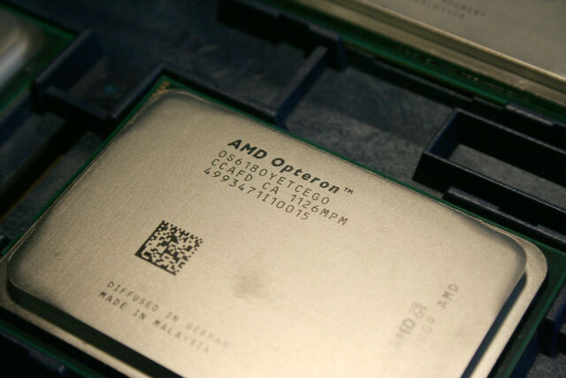 CPU AMD OPTERON 12CORE PROCESSOR 6180 SE 2.5GHZ 12MB L3 CACHE 140W OS6180YETCEGO