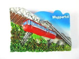 Magnet-Wuppertal-Schwebebahn-Souvenir-Germany-Deutschland-Neu