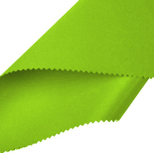 Lime Heavy Duty Waterproof Canvas Fabric 600D Outdoor Cover Sold By Metre