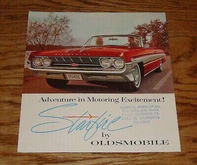 1961 Pontiac Foldout Accessories Brochure 61