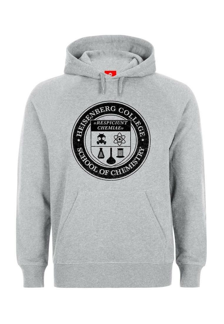 Breaking Bad Sweater Uomo - HEISENBERG COLLEGE - grigio
