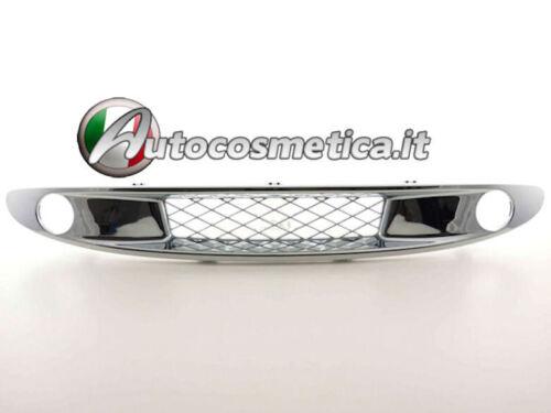 griglia calandra mascherina cromo  MERCEDES SMART FORTWO 450 1999-2001