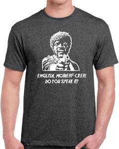 d9fe726fc 624 English Motherf*cker do you speak it Mens T-shirt pulp movie ...