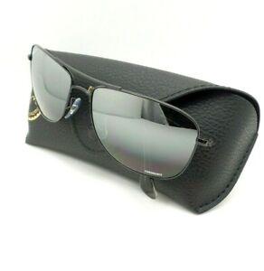 7889768af0 Ray Ban 3543 002 5L Black Flash Mirror Polarized 59 Sunglasses New ...