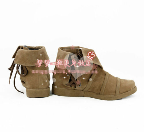 Hot! Peter Pan Peter Pan cosplay shoes costom made GG.85