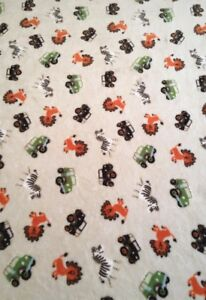 Image Is Loading Jumping Beans Safari Blanket Fleece Throw Child 48x60