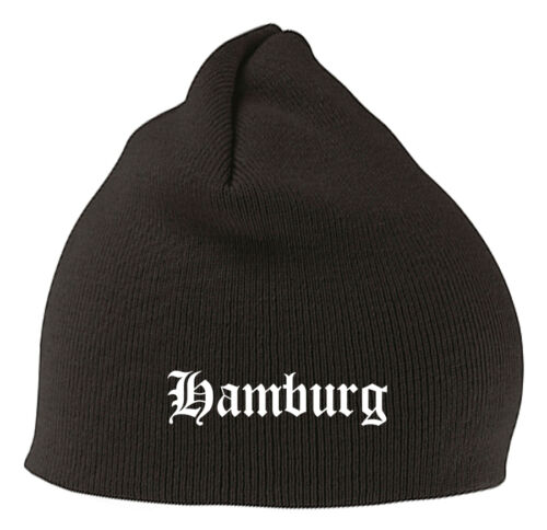 Amburgo Berretto Beanie-elegante ricamato-STITCH-LEGA FEDERALE CALCIO FAN