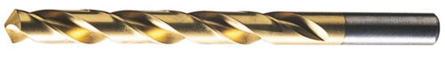 "HSS Gold Coated Jobber Length Drill 17//32/"" .5312/"" Tin"