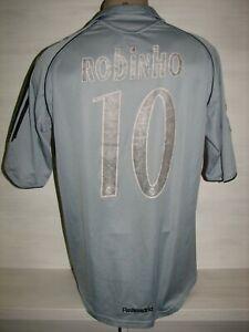 Manga Deflector Doctrina  10 Robinho Real Madrid 2005-06 Tercera Camiseta Adidas Talla M | eBay