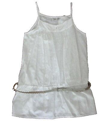Camisas Niña Sin Mangas De Losan , Blanco ,talla 12 Meno Caro