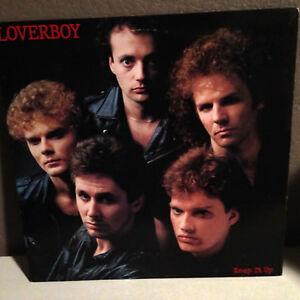 "LOVERBOY - Keep It Up - 12"" Vinyl Record LP - VG - Hot Girls In Love"