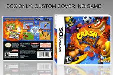 NINTENDO DS : CRASH BOOM BANG. UNOFFICIAL COVER. ORIGINAL BOX. NO GAME. ENGLISH.