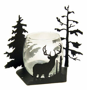 Buck-Deer-Votive-Candle-Holder