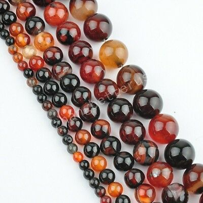 Dream Agate Gemstone Round Bead Loose Spacer Beads 16'' Strand 4 6 8 10 12 mm