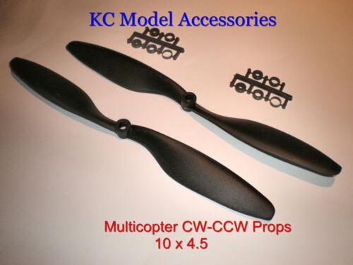 Multicopter accessoires 10 x 4.5 nylon Comptoir Rotatif Accessoires x paire cw-ccw