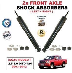 Para-Isuzu-Rodeo-I-2-5-3-0-DiTD-4x4-2003-2012-amortiguadores-de-la-parte-frontal-izquierda-derecha