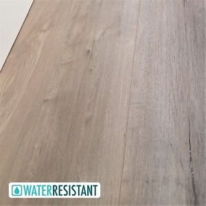 Details About Modern Sandy Washed Wide Plank Laminate Flooring By The Case    Powderhorn 12mm