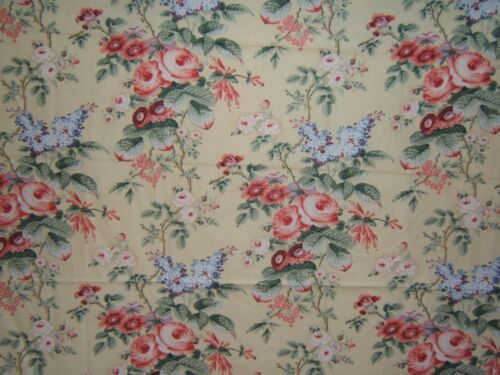 """Laura Ashley /""""Mill Hill/"""" floral by the yard and piece multiple colors and sizes"""