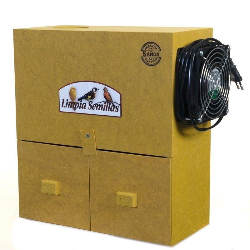 Limpiador de Semillas Para Pájaros Canarios Exóticos Tropicales jilgueros