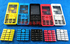 official photos 330e1 cef79 Details about Body Housing cover bezel case keypad keyboard for Nokia Asha  206 2060 Replace