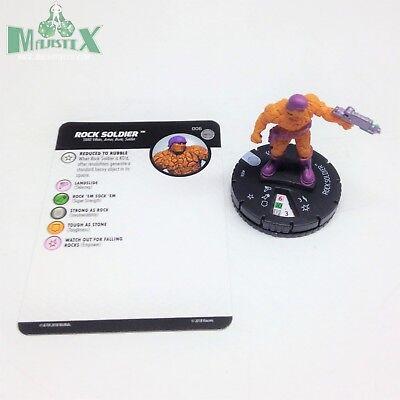 Heroclix Teenage Mutant Ninja Turtles 2 set Foot Ninja #006 Common figure w//card