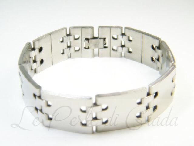 Bracciale VANCOUVER Uomo Acciaio Inox Stainless Steel Bracelet Urban Lifestyle