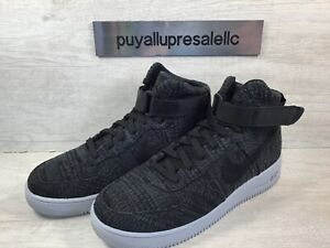 Men's Nike Air Force 1 Ultraforce High Flyknit 880854-005 Black Size 9.5