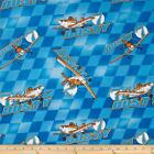 Planes *Disney and More cotton quilting fabric *Choose design & size