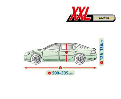 Autoabdeckung Ganzgarage Vollgarage Autoplane XXL für Audi A8 Atmungsaktiv