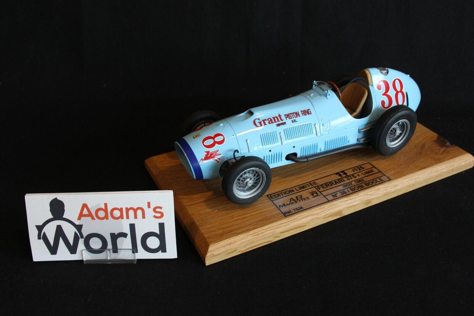 ARM Ferrari 375 Formule Libre 1952 1 18 Bobi Boole (USA) Indy 1952 (PJBB)