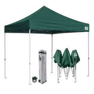 Details about Heavy Duty 10X10 Ez Pop Up Canopy Commercial Outdoor Instant  Party Shade Tent