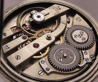 Hi Grade 19 JEWELS '1880 ANTIQUE Swiss Engraved Pocket Watch PERFECT Serviced
