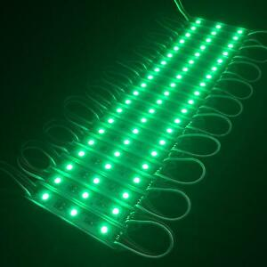 Green-LED-MODULES-Module-STRIP-WATERPROOF-BOAT-DECK-GARDEN-MARINE-CARAVAN-LIGHT