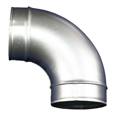 Umlenkstück, Kniestück Ø100mm Metall ( 86075 ) Abluftrohr, Abluftkanal