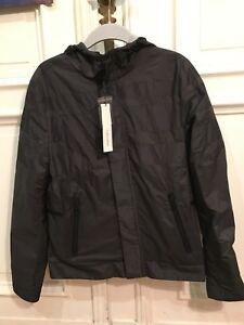 Details Herren Design Jacke Zu 100 Black Gr Klein Slim polyester Regenjacke Ck S Calvin Fit L54ARj