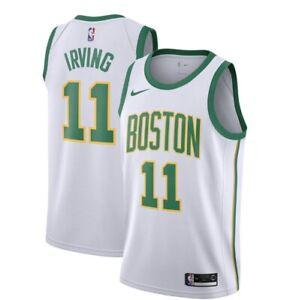 NEW/TAGS Boston Celtics Adult Kyrie Irving City Edition Nike ...