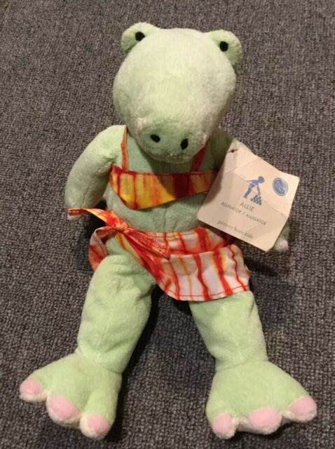 Pottery Barn Kids Alligator Plush Allie With Laughing