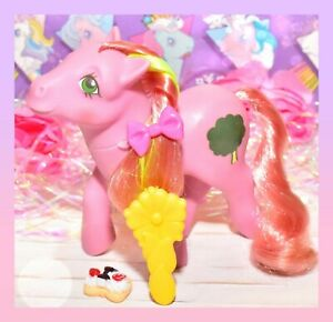 My-Little-Pony-MLP-G1-Vtg-Magic-Message-Windy-Magical-Breeze-Original-Brush