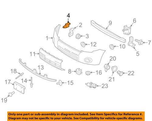 FORD OEM-Bumper Mount Bracket Support Kit Left 8L8Z17E814B
