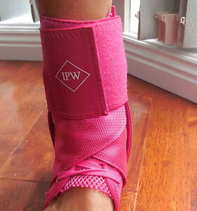 ANKLE-SUPPORTS-FLURO-Blue-amp-Pink-Ankle-Sprains-Ankle-Injury-Prevention