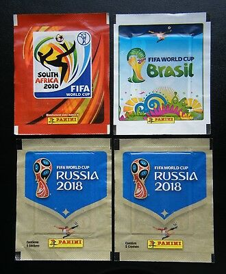 """SOUTH AFRICA 2010 1 X PACKET PANINI WORLD CUP /""""CONTÉM 5 CROMOS /"""" VERSION"""