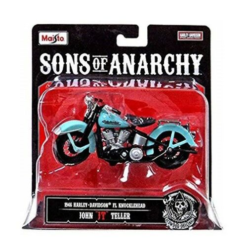 1946 Harley Davidson Knucklehead Sons of Anarchy Teller Maisto 1:18 Motorcycle