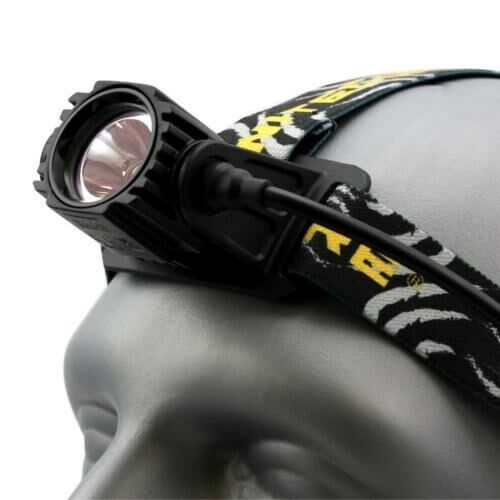 NiteCore hoofdlamp HA40 CREE 1000 lumen CREE HA40 XM-L2 U2 LED - Zwart aa2a3e