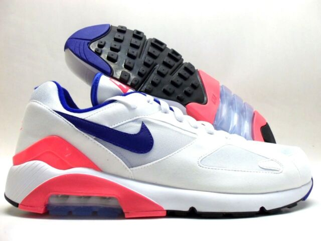 new arrival 53f45 a44e5 2018 Nike Air Max 180 OG Sz 13 White Ultramarine Solar Red Blue 615287-100