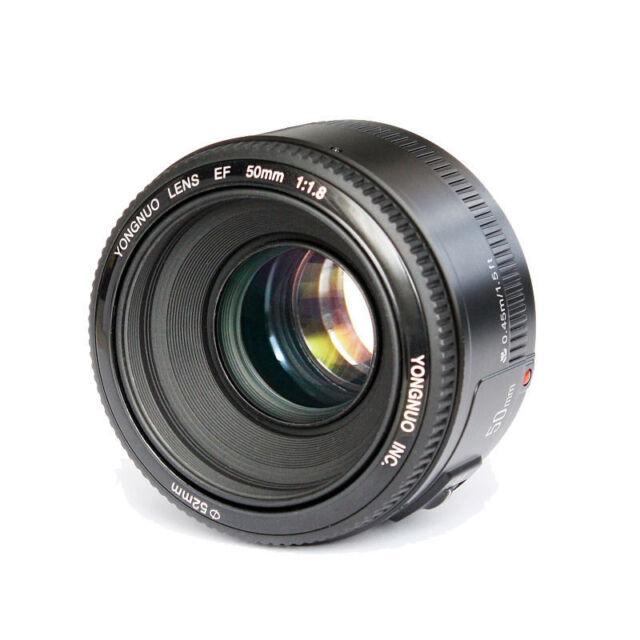 YONGNUO 50mm Objektiv F1.8 für Canon EF